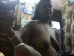 Curvy Indian Aunty Getting...